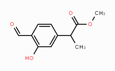 1257397-46-8 | methyl 2-(4-formyl-3-hydroxyphenyl)propanoate