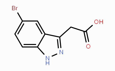 885271-84-1 | 2-(5-bromo-1H-indazol-3-yl)acetic acid