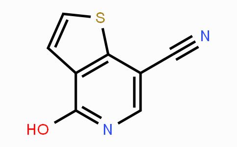 55040-34-1 | 4-hydroxythieno[3,2-c]pyridine-7-carbonitrile