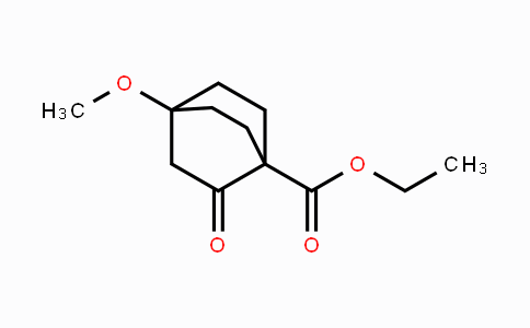 81687-88-9 | ethyl 4-methoxy-2-oxobicyclo[2.2.2]octane-1-carboxylate