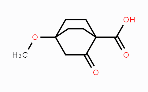 81687-89-0 | 4-methoxy-2-oxobicyclo[2.2.2]octane-1-carboxylic acid
