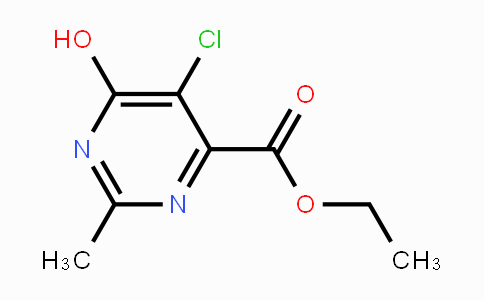 89981-35-1 | ethyl 5-chloro-6-hydroxy-2-methylpyrimidine-4-carboxylate