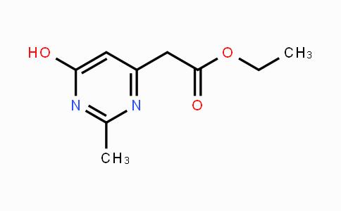 159326-53-1 | ethyl 2-(6-hydroxy-2-methylpyrimidin-4-yl)acetate