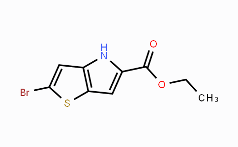 238749-50-3 | ethyl 2-bromo-4H-thieno[3,2-b]pyrrole-5-carboxylate