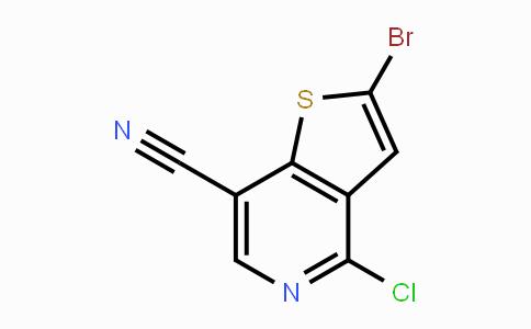 690635-43-9 | 2-bromo-4-chlorothieno[3,2-c]pyridine-7-carbonitrile