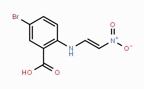 853908-49-3 | 5-bromo-2-(2-nitrovinylamino)benzoic acid