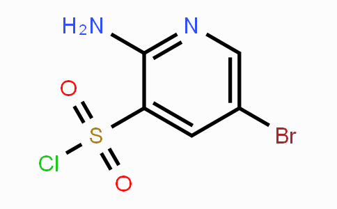868963-98-8   2-amino-5-bromopyridine-3-sulfonyl chloride