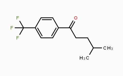 869318-90-1 | 4-methyl-1-(4-(trifluoromethyl)phenyl)pentan-1-one