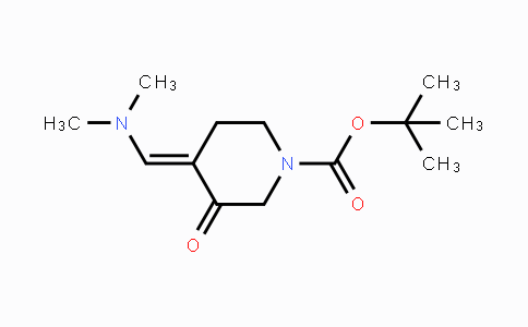 871726-72-6 | tert-butyl 4-((dimethylamino)methylene)-3-oxopiperidine-1-carboxylate