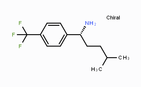 884603-39-8 | (R)-4-methyl-1-(4-(trifluoromethyl)phenyl)pentan-1-amine