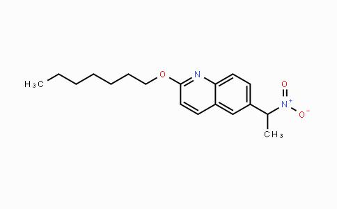 1225230-02-3   2-(heptyloxy)-6-(1-nitroethyl)quinoline