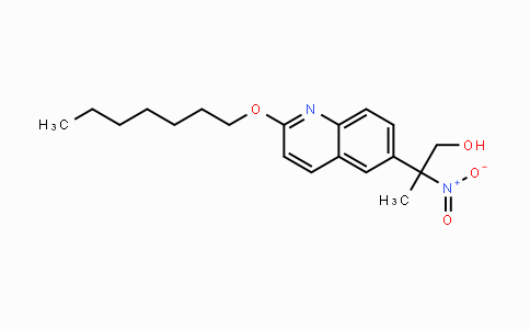 1225230-03-4 | 2-(2-(heptyloxy)quinolin-6-yl)-2-nitropropan-1-ol