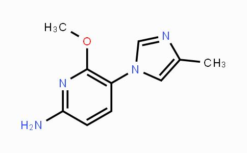 1232039-16-5 | 6-methoxy-5-(4-methyl-1H-imidazol-1-yl)pyridin-2-amine