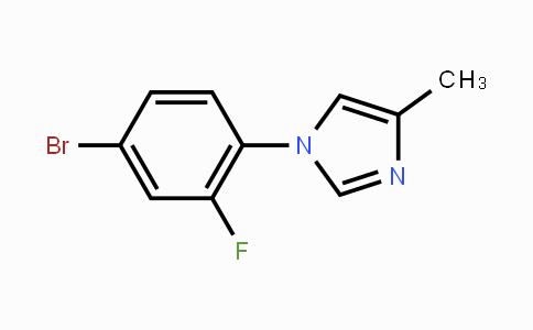 1241675-16-0 | 1-(4-bromo-2-fluorophenyl)-4-methyl-1H-imidazole