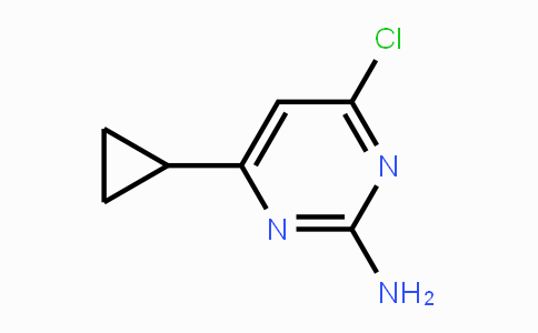 21573-09-1 | 4-chloro-6-cyclopropylpyrimidin-2-amine