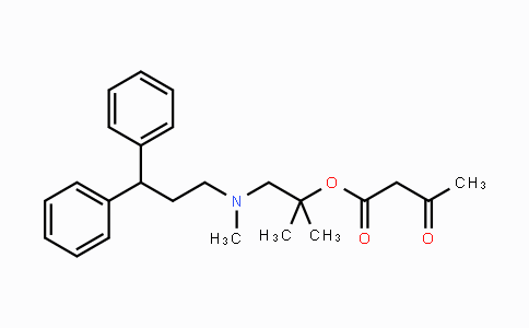 100427-51-8 | 1-((3,3-diphenylpropyl)(methyl)amino)-2-methylpropan-2-yl 3-oxobutanoate