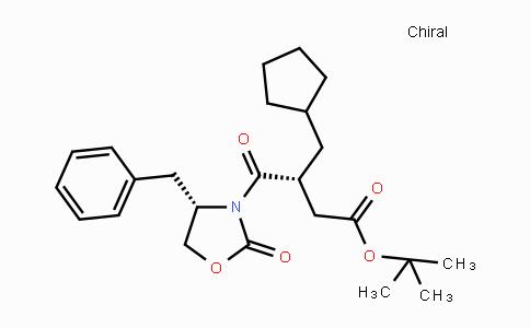 223433-51-0 | (R)-tert-butyl 4-((S)-4-benzyl-2-oxooxazolidin-3-yl)-3-(cyclopentylmethyl)-4-oxobutanoate