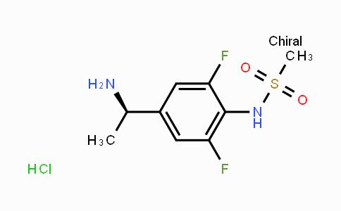 956901-23-8 | (R)-N-(4-(1-aminoethyl)-2,6-difluorophenyl)methanesulfonamide hydrochloride