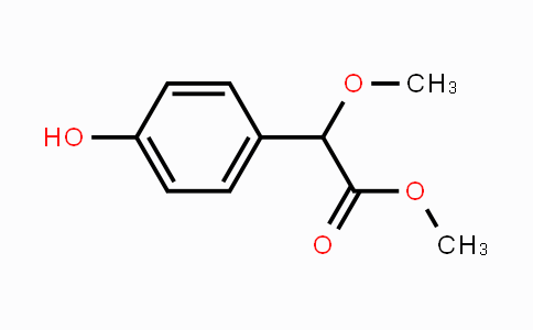 76529-98-1 | methyl 2-(4-hydroxyphenyl)-2-methoxyacetate