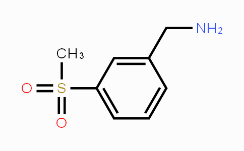 771573-22-9 | (3-(methylsulfonyl)phenyl)methanamine