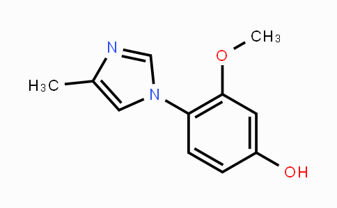 102151-57-5 | 3-methoxy-4-(4-methyl-1H-imidazol-1-yl)phenol