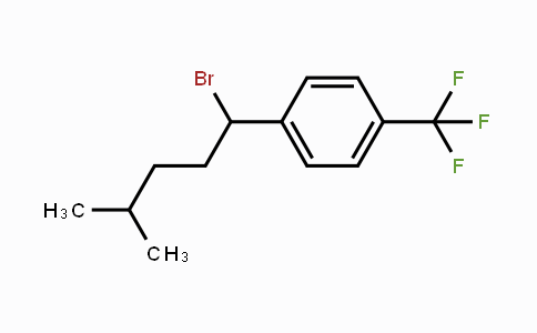 936550-70-8 | 1-(1-bromo-4-methylpentyl)-4-(trifluoromethyl)benzene