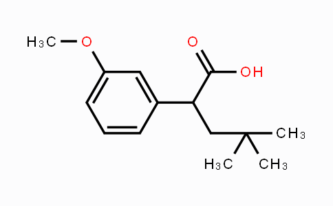 1257397-56-0 | 2-(3-methoxyphenyl)-4,4-dimethylpentanoic acid