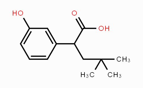 1257397-57-1 | 2-(3-hydroxyphenyl)-4,4-dimethylpentanoic acid