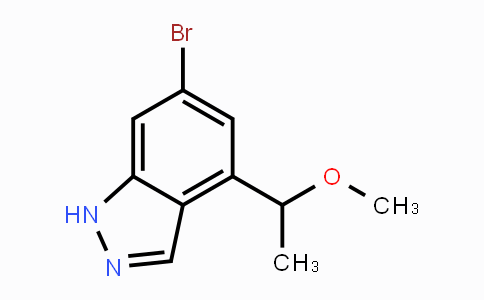 1354220-34-0 | 6-bromo-4-(1-methoxyethyl)-1H-indazole