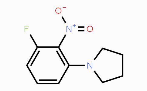 1233951-55-7 | 1-(3-fluoro-2-nitrophenyl)pyrrolidine