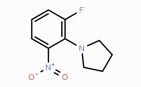 1233952-03-8 | 1-(2-fluoro-6-nitrophenyl)pyrrolidine