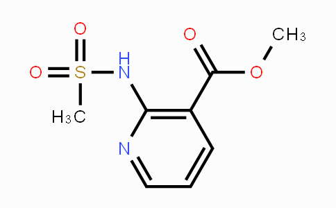 1418315-87-3 | methyl 2-(methylsulfonamido)nicotinate