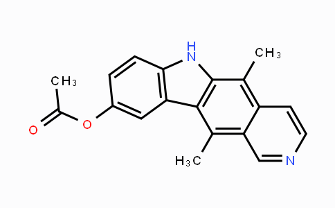 56501-53-2 | 5,11-dimethyl-6H-pyrido[4,3-b]carbazol-9-yl acetate