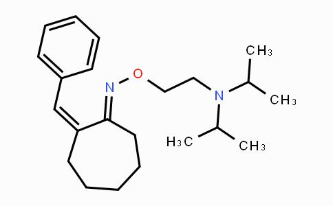 66660-94-4 | (1E,2Z)-2-benzylidenecycloheptanone O-2-(diisopropylamino)ethyl oxime