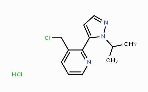 1446321-95-4 | 3-(chloromethyl)-2-(1-isopropyl-1H-pyrazol-5-yl)pyridine hydrochloride