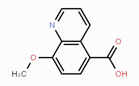 148887-46-1 | 8-methoxyquinoline-5-carboxylic acid
