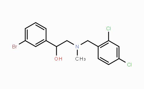 1234366-97-2 | 1-(3-bromophenyl)-2-((2,4-dichlorobenzyl)(methyl)amino)ethanol