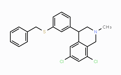1234366-98-3 | 4-(3-(benzylthio)phenyl)-6,8-dichloro-2-methyl-1,2,3,4-tetrahydroisoquinoline