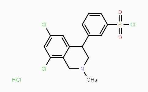 1234366-99-4 | Benzenesulfonyl chloride, 3-(6,8-dichloro-1,2,3,4-tetrahydro-2-methyl-4-isoquinolinyl)-, hydrochloride (1:1)
