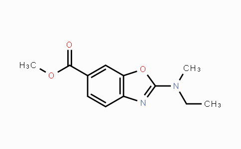 MC447255 | 1160490-12-9 | methyl 2-(ethyl(methyl)amino)benzo[d]oxazole-6-carboxylate