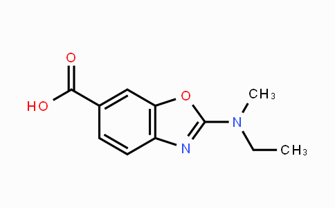 1160490-13-0 | 2-(ethyl(methyl)amino)benzo[d]oxazole-6-carboxylic acid