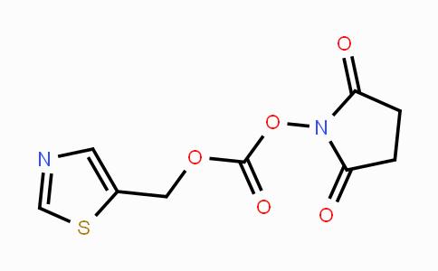 DY447259 | 282540-02-7 | 2,5-dioxopyrrolidin-1-yl thiazol-5-ylmethyl carbonate