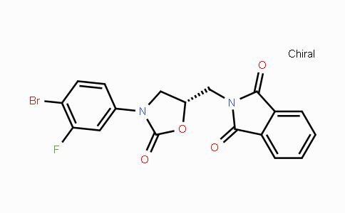 1032827-78-3 | (S)-2-((3-(4-bromo-3-fluorophenyl)-2-oxooxazolidin-5-yl)methyl)isoindoline-1,3-dione