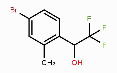 1628953-52-5 | 1-(4-bromo-2-methylphenyl)-2,2,2-trifluoroethanol