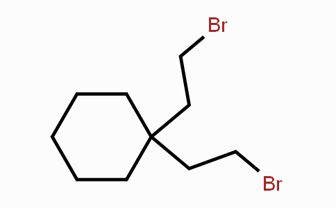 3187-34-6 | 1,1-bis(2-bromoethyl)cyclohexane