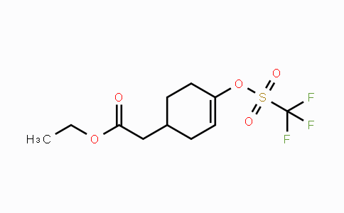 1166829-72-6 | ethyl 2-(4-(trifluoromethylsulfonyloxy)cyclohex-3-enyl)acetate