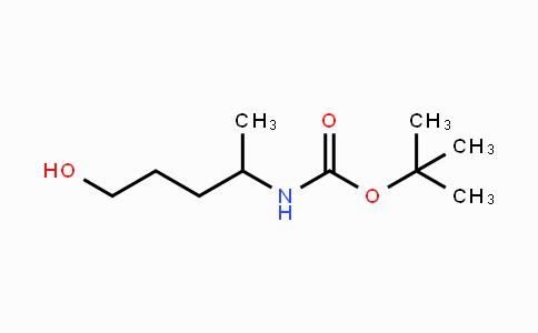 179412-96-5 | tert-butyl 5-hydroxypentan-2-ylcarbamate