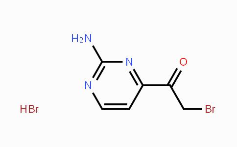 106157-91-9 | 1-(2-aminopyrimidin-4-yl)-2-bromoethanone hydrobromide