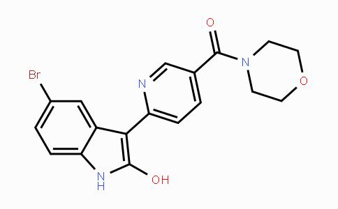 945633-70-5 | (6-(5-bromo-2-hydroxy-1H-indol-3-yl)pyridin-3-yl)(morpholino)methanone
