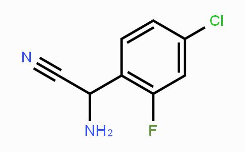 189138-31-6 | 2-amino-2-(4-chloro-2-fluorophenyl)acetonitrile
